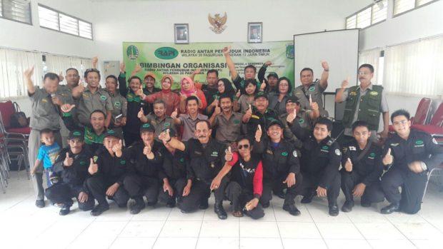 Bimbingan Organisasi RAPI Wilayah Pasuruan