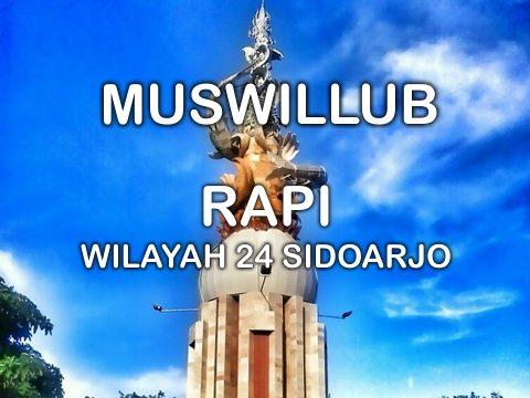 Muswillub RAPI Wilayah 24 Kabupaten Sidoarjo
