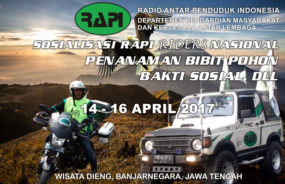 Sosialisasi RAPI Riders Nasional